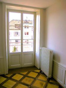 Antikes Fenster Kasetten-ParkettMERA