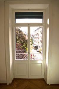 Balkontür aus Holz