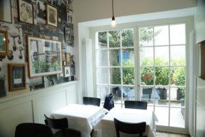 Balkontüre Restaurant Antikhaus