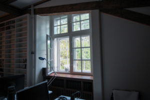Barock-Fenster antike Beschläge
