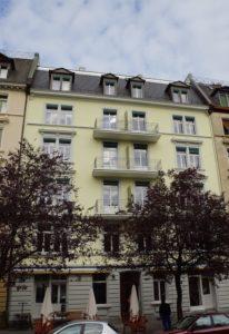 Bertastrasse Zürich-Zurlinden Fassade historisch