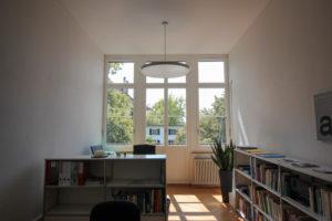 Büro-Balkontüre mit Füllung