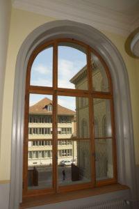 Bundehaus Bern Eichenfenster