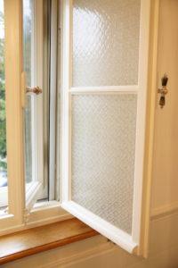 Einfachglas-Fenster Gussglas