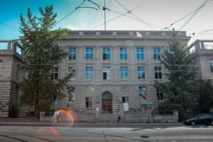 ETH-Fassade Tikanaglas-Kämpfer