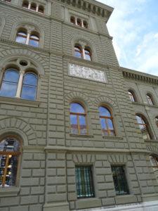 Fassade Bundeshaus Schweiz