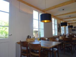 Fenster Antikhaus-Restaurant