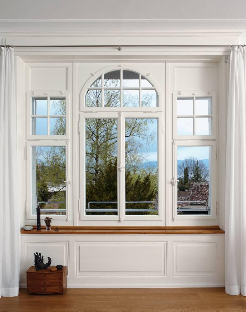 Fensterfront historisch ausgefuehrt