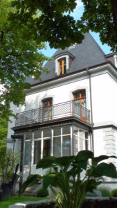 Gellert-Villa historische Fenster