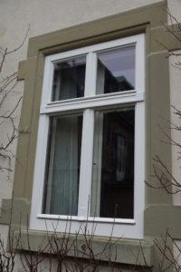 Historische Fenster Aussenansicht