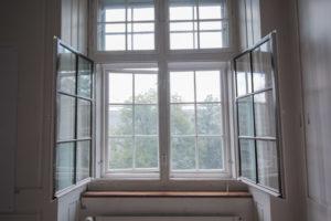 Kastenfenster-Sprossen antikes Glas