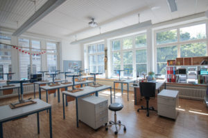 Klassenzimmer Schallschutzfenster