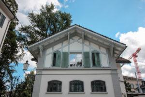 Riegelhaus-Fenster