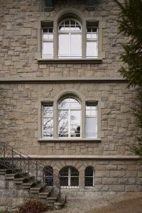 Stadtvilla schöne Fenster