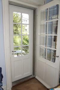 Tür mit runden Ecken