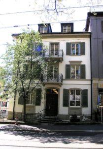 Universitaetsstrasse Uni Zürich Fassade