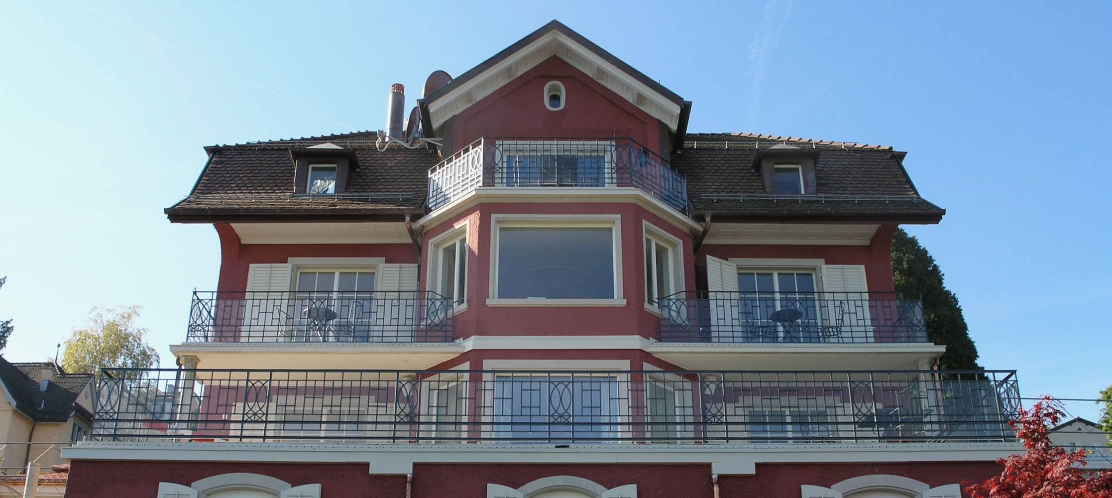 Balkone mit Seesicht