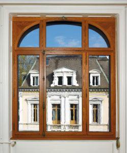 Goetheglas-Eichenfenster