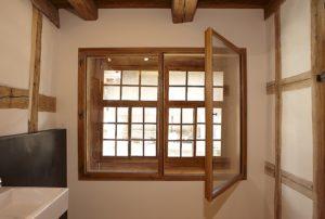 Kastenfenster alt und neu