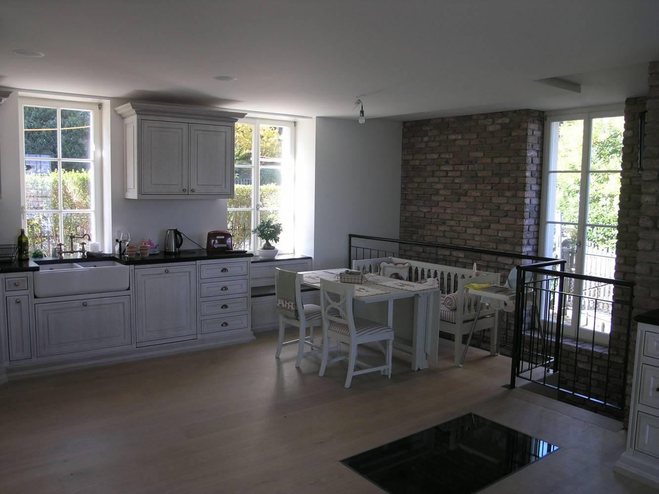 Küche-Fenster englischer Historismus