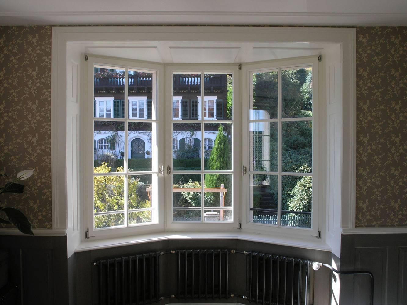 Sprossen antike Fenster neu gemacht