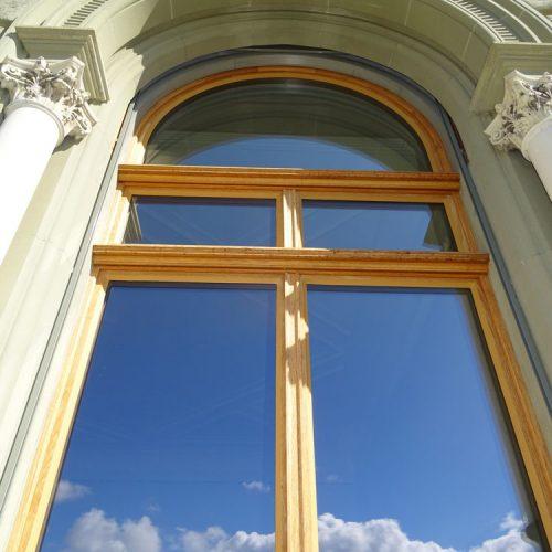 Eichenfenster Helvetic Bundeshaus